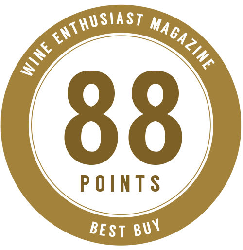 88 points, Best Buy - Wine Enthusiast