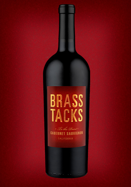 Brass Tacks 'To the Point' California Cabernet Sauvignon Wine