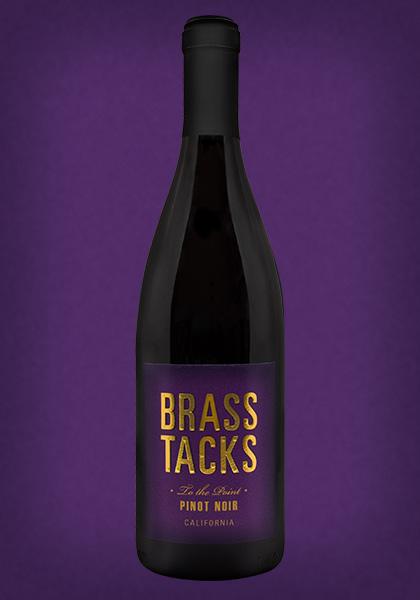 Brass Tacks 'To the Point' California Pinot Noir Wine