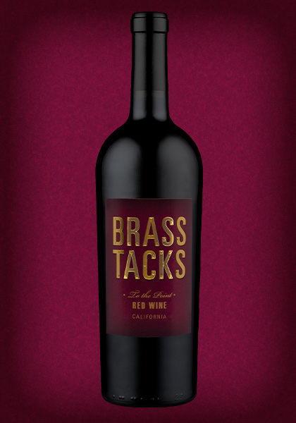 Brass Tacks 'To the Point' California Red Wine Blend