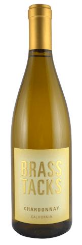 Brass Tacks Chardonnay Bottle