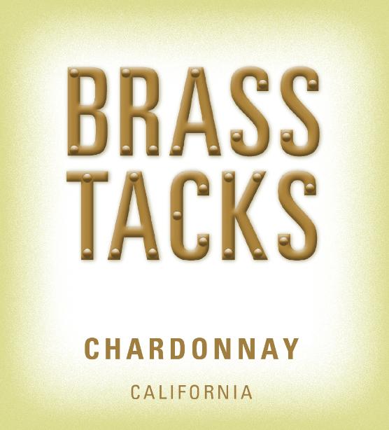 Brass Tacks Chardonnay Label