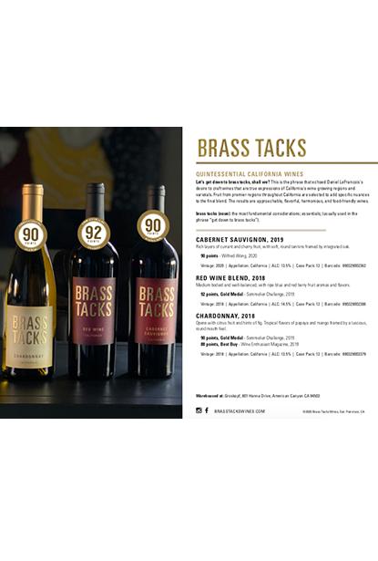 Brass Tacks Core Sales Sheet