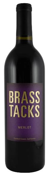 Brass Tacks Merlot Bottle