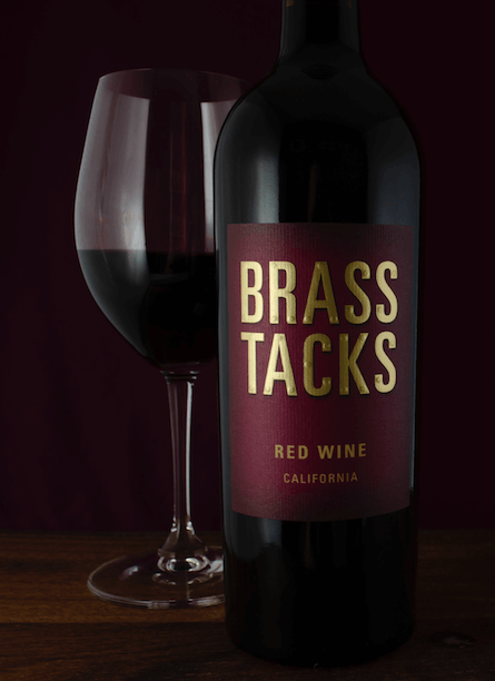 Brass Tacks Red Wine Beauty