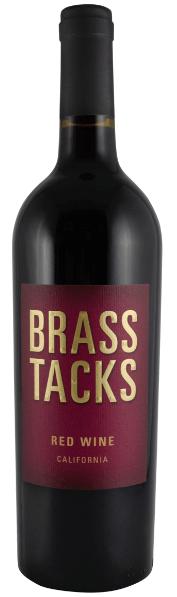 Brass Tacks Red Wine Bottle